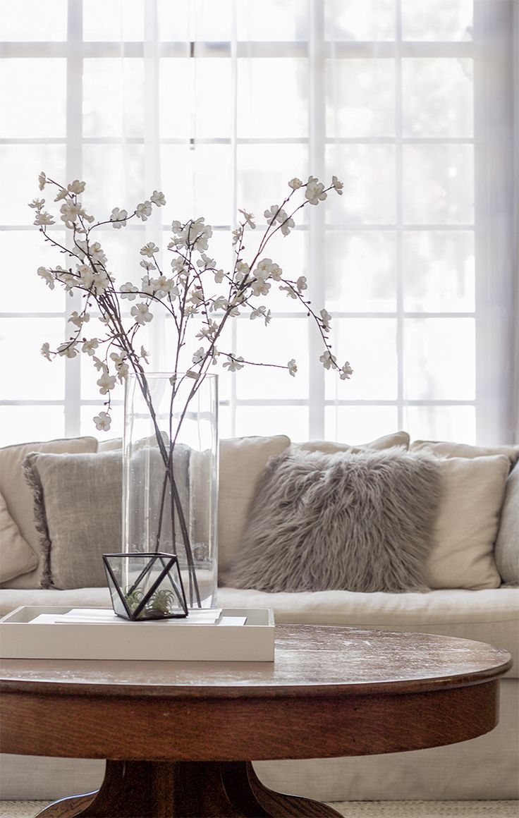 living room furniture budget%0A Our favorite flowering branches for your home   copycatchic luxe living for  less budget home decor
