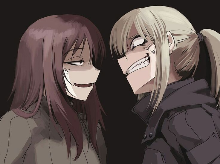 face expression mad angry anger smile crazy   Anime ...
