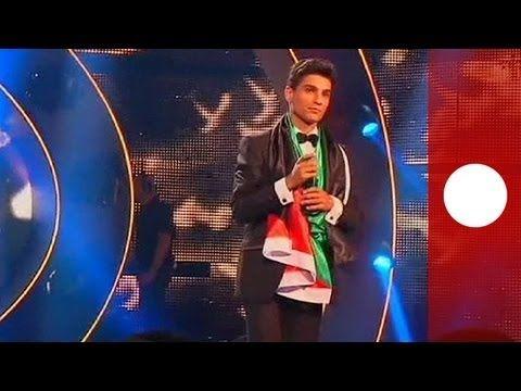 Palestinian singer wins 'Arab Idol' TV show - YouTube