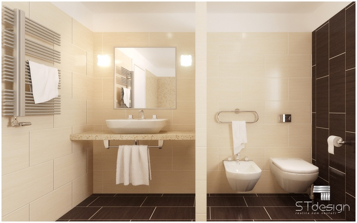 Quality and fair bathrooms create a 3D model according to supplied design