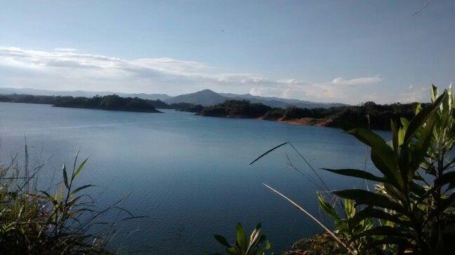 Embalse del Peñol en El Peñol, Antioquia
