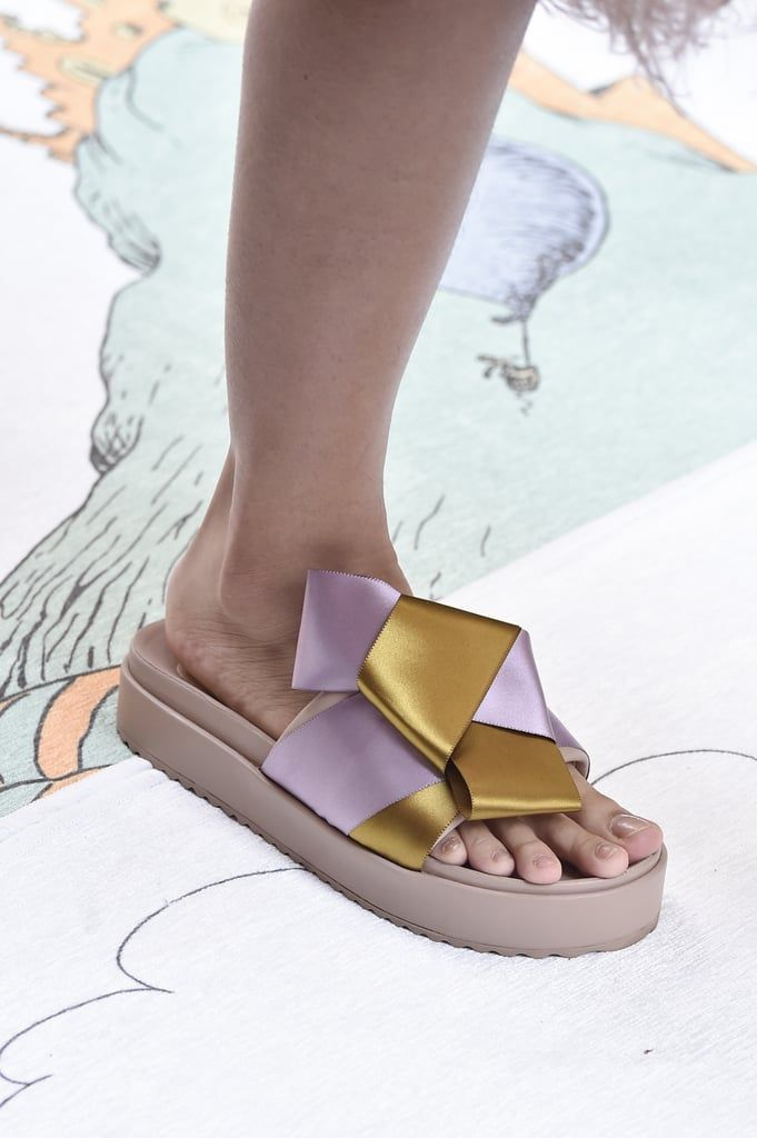 9 Spring 2020 Shoe Trends to Get on Your Radar – Sanders flats and stacked heels