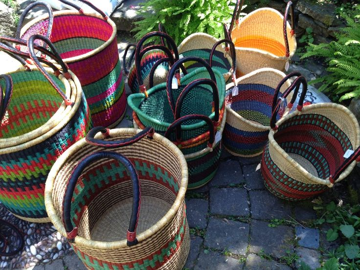 Baba Tree Laundry and Nyariga Shopping Baskets