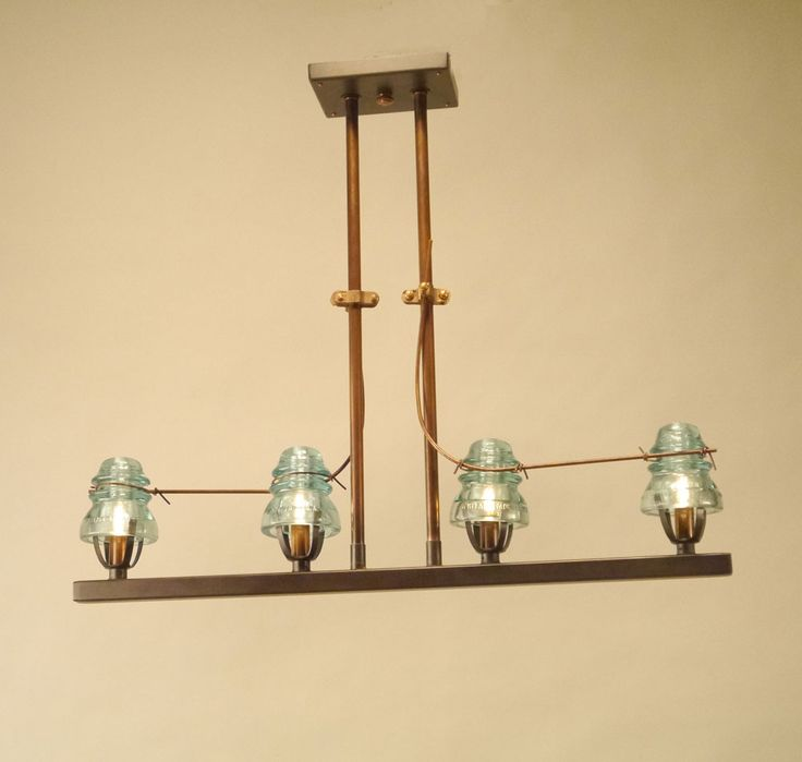 103 best images about repurposed lighting on pinterest for Telephone insulator light fixture