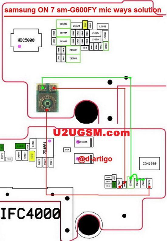 samsung galaxy on7 mic solution jumper problem ways microphone rh pinterest com