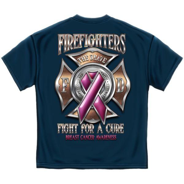 Fight For A Cure Fire T-shirt | Firefighter Apparel | Firefighter.com