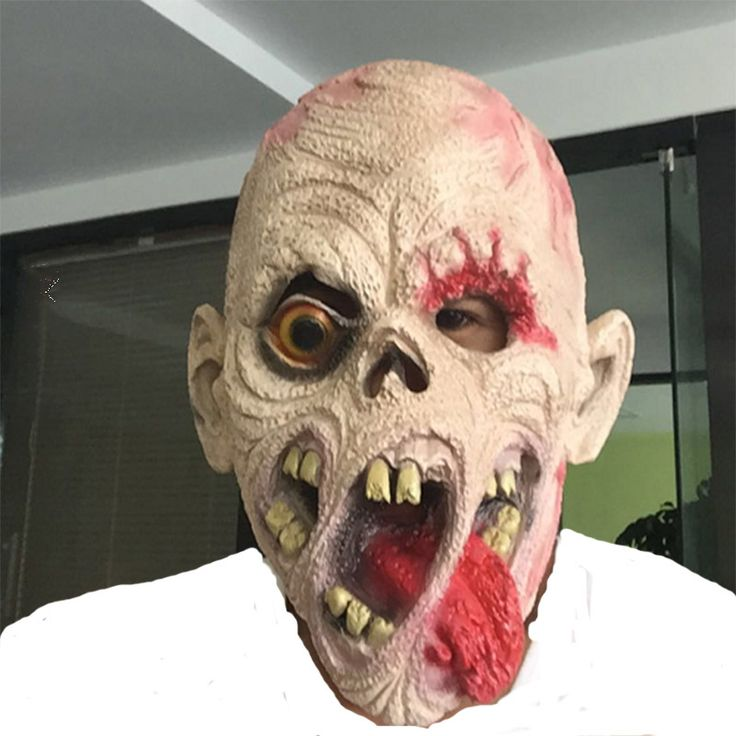 Hot Sale Horror Cosplay Mask Fashion Men Latex Mask Goblins Creepy Costume Party Cosplay Props Scary Mask for Halloween P30