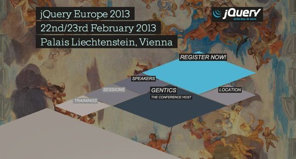 http://events.jquery.org/2013/eu/  24 Awesome Web Design Conferences You Should Know