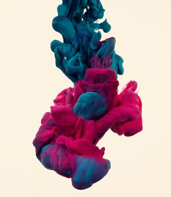 Alberto Sevesso or Luka Klikovac - the photographs of ink dropped into water
