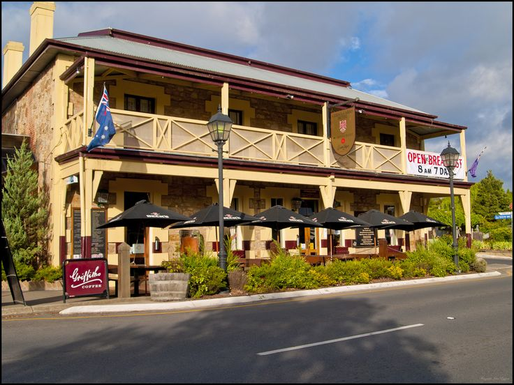 """The German Arms Hotel, Hahndorf, South Australia. The best pub food I have ever had!"" Not sure about the 'best' but it is pretty good. S"