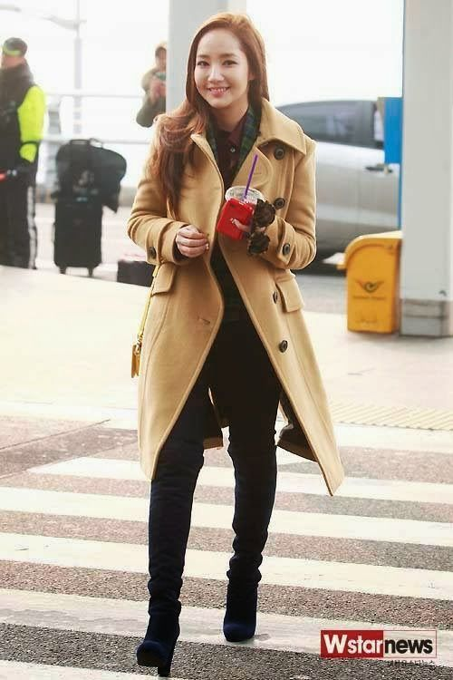 Park Min Young Park Min Young Pinterest Park Min Young Airport Fashion And Korean Celebrities