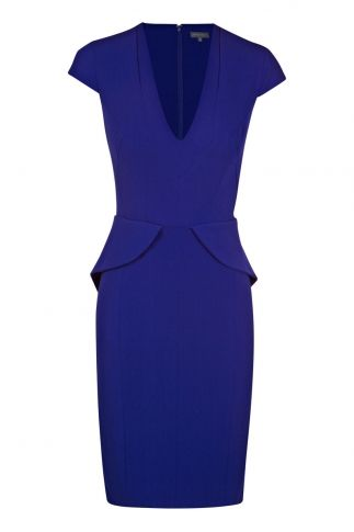 Capri blue - race day dress?
