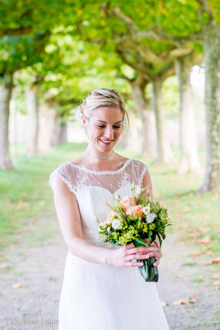 Homemade wedding dress | coudre une robe de mariée | Photo by Stéphanie Maier | Dolly en Alsace