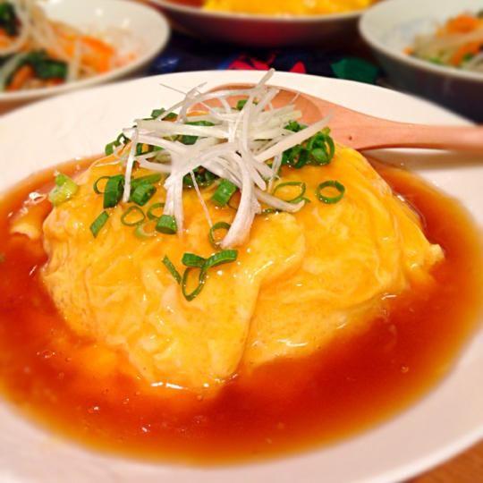 天津飯レシピ人気の17選ふわっとろっあのお店のアレンジも