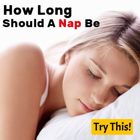 How Long Should A Nap Be What is the recommended time for napping? 10-20 Minutes If you choose to give your body a rest of 10 to 20 minutes during the day you will become more productive. Take a nap for 10-20 minutes to boost alertness, energy, to refresh and get back to work. This lenght usually limits you to the lighter stages of non-rapid eye movement (NREM) sleep, makeing it easier to hit the ground running after waking up. 30 Minutes Some studies show sleeping this long may cause sleep…