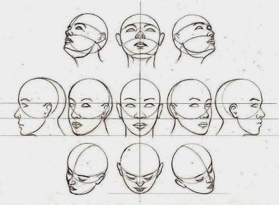 El arte de Arantxa: Como dibujar una cara