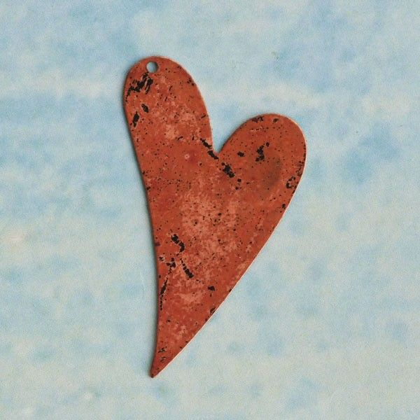 Vintaj Natural Brass Co. Blank Copper Artisan Heart