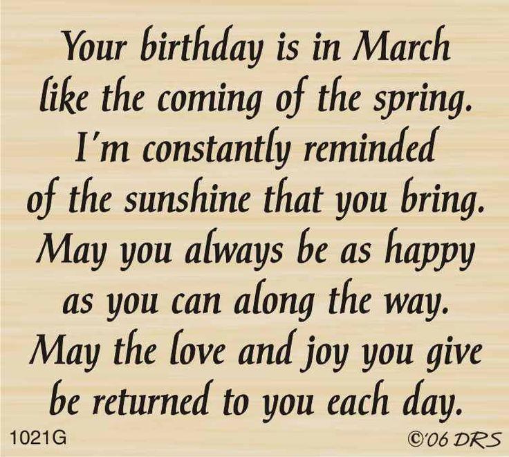 DRS Designs - March Birthday Greeting, $10.00 (http://www.drsdesigns.com/march-birthday-greeting/)