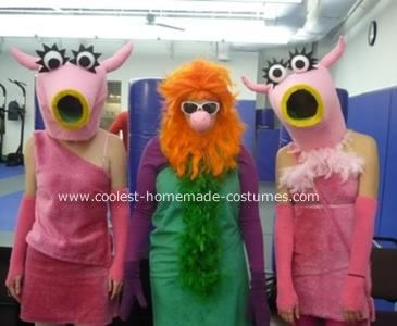 Snowth, Mahna Mahna, Snowth: While strolling through the Jim Henson exhibit at the Smithsonian, my two friends and I decided we needed a Muppets Halloween costume. And not just any