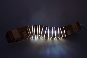 lightwood twisted beam by light
