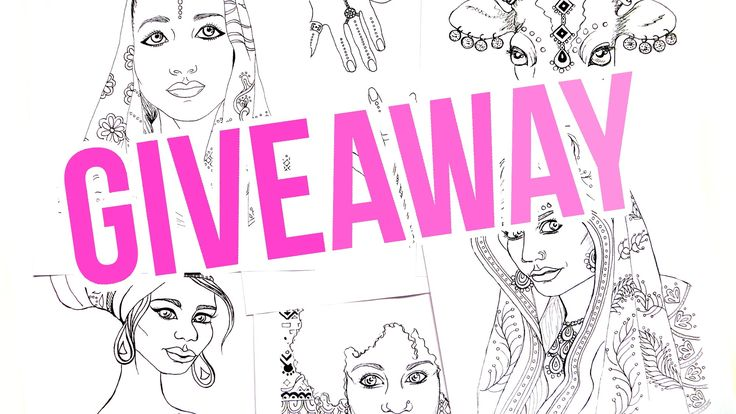 100 Subscribers COLORING BOOK GIVEAWAY! To celebrate reaching 100 subscribers on YouTube I'm hosting a giveaway! The prize is an Indian and African coloring book. Enter the giveaway here: https://gleam.io/CPjU9/coloring-book-giveaway