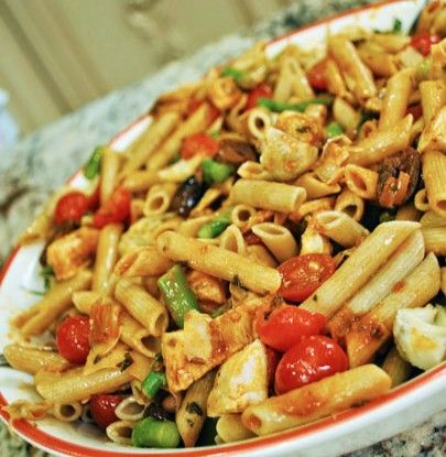 Chicken Penne Pasta with Asparagus | Simple Dish | Quick, Easy,  Healthy Recipes for Dinner