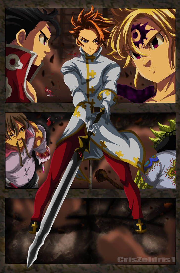Arthur Excalibur Vs Demonios Elite Nnt Manga 255 By Criszeldris1