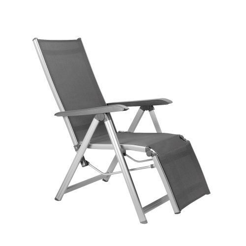kettler basic plus relaxsessel silber anthrazit kettler klappst hle ausverkauf. Black Bedroom Furniture Sets. Home Design Ideas