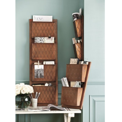 office wall organization ideas. love the fluer de lis it works great for sorting family mail in my home wall file organizerpocket organizerorganizershanging office organization ideas