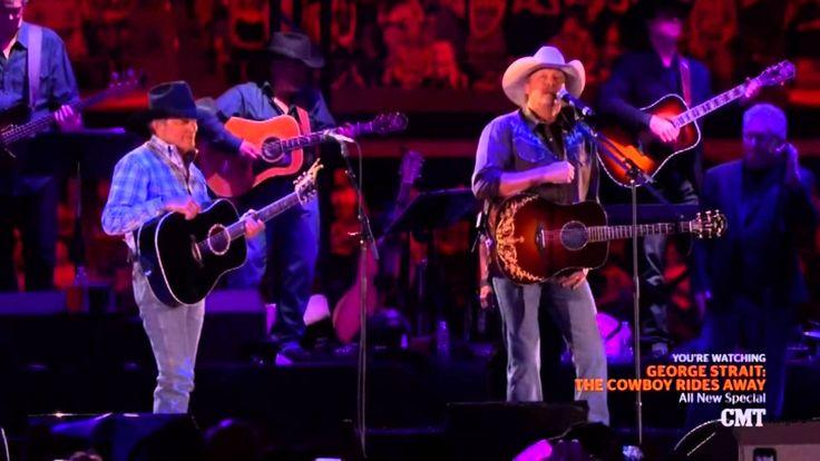 George Strait - The Cowboy Rides Away 2014 ((CMT Show)) Best Quality! (HD)