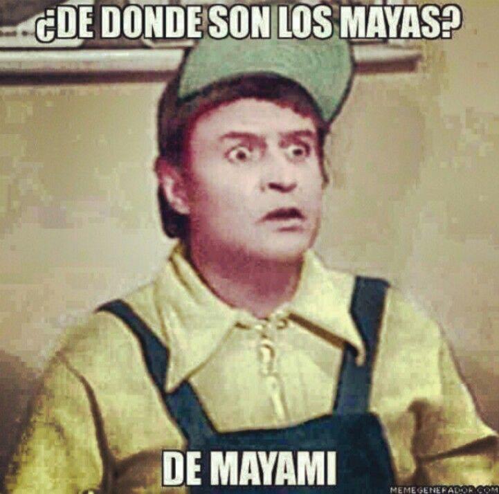 De Mayami...