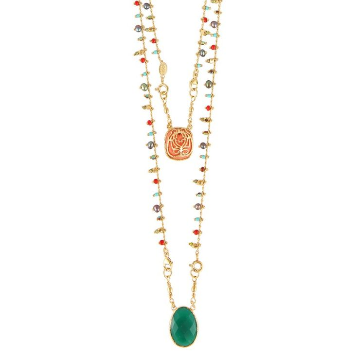 SCAPULAIRE SERTI NECKLACE LONG SIZE