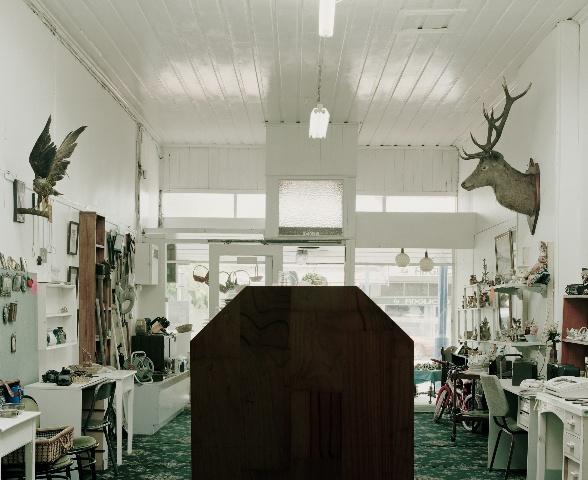 Allan McDonald, Waitara (Second hand shop), 2009, C-type photograph mounted on diabond, Edition of 3