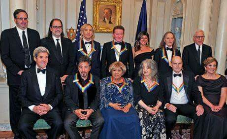 The Eagles & Cindy Frey at The Kennedy Center Honors in DC  Fri 12-2-2016