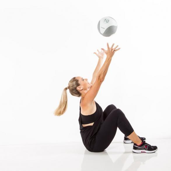 Balance Ball Sit Ups: 86 Best Medicine Ball Workout Images On Pinterest