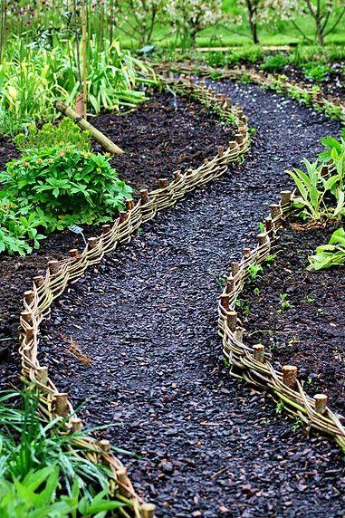 Beetbegrenzung Allotment Ideas Garden Edging