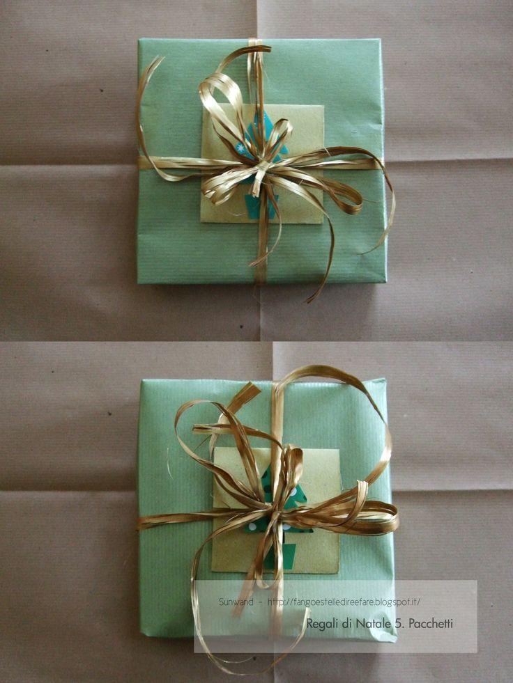 Pacchettini #regali #handmade