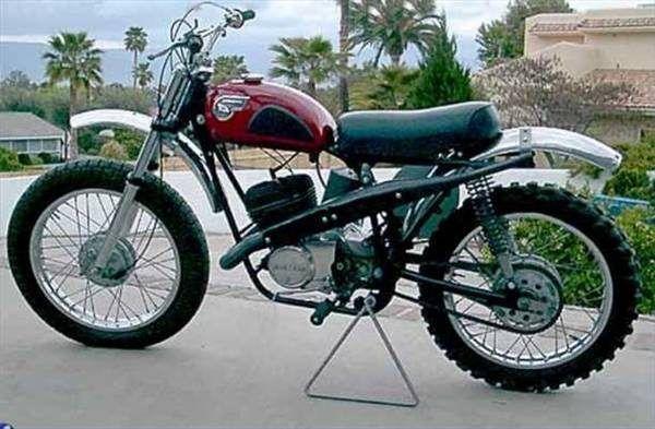 The Kawasaki 250cc F21M model.