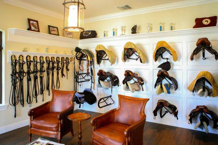 Equestrian, horse stable, horse farm, tack room