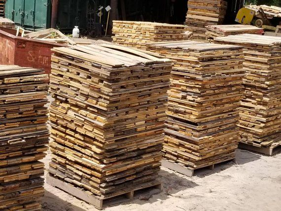 Bulk 800 Piece Pallet Board Cube Pallet Boards Recycled