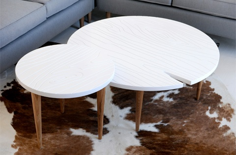 Root End Table and Coffee Table by @Gus* Modern: Modern Roots, Coffee Tables, Gus Modern, Interiors Design, Roots Coff, Coff Tables, End Tables, Accent Tables, The Roots