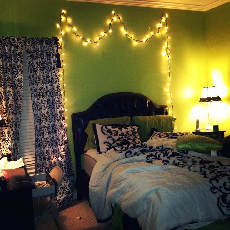 Best Christmas Lights In Bedroom Ideas On Pinterest - Xmas lights in bedroom