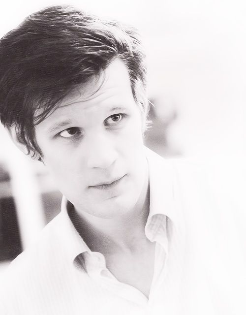 Matt Smith has to be the most attractive man alive.> third. Benedict Cumberbatch, then David Tennant, THEN Matt smith. :P
