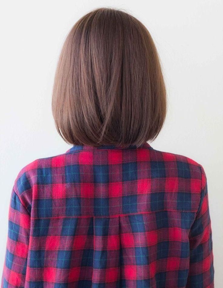 可愛くまとまるツヤボブ EN-144 | ヘアカタログ・髪型・ヘアスタイル|AFLOAT(アフロート)表参道・銀座・名古屋の美容室・美容院