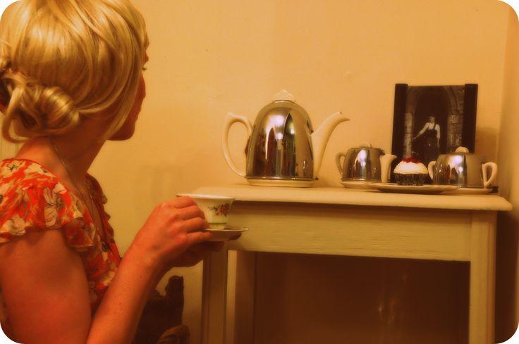 Deco tea set.