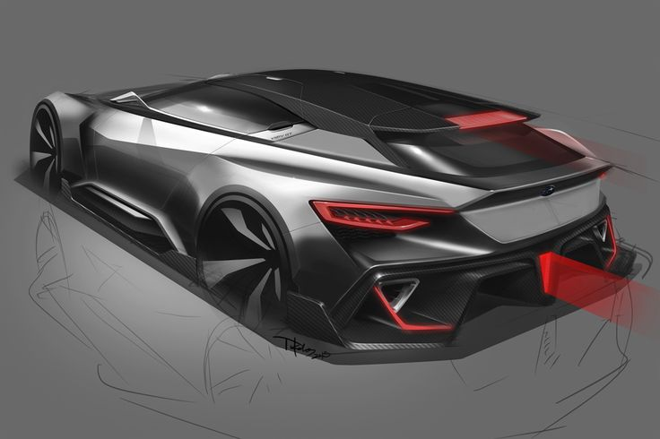 This is Subaru's Viziv GT Vision Concept [40 Pics & Video]