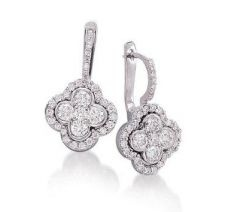 diamond drop earrings: Jewelry Diamonds, Diamonds Earrings, Drop Style, Style Earrings, Diamond Drop Earrings, Diamonds Drop Earrings, Clovers Diamonds, Leaf Drop, Leaf Clovers