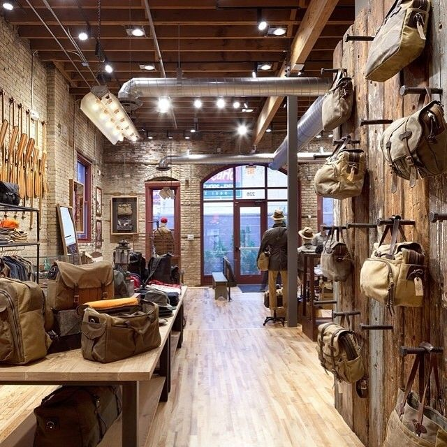 We're beyond thrilled to have our paddles up at the @filson1897 & @shinola in Minneapolis. Such a sweet space!  #ScoutForth