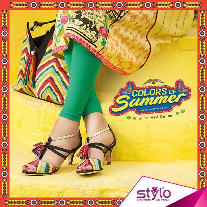 Stylo Shoes Summer Collection 2017 Latest Women Footwear Designs
