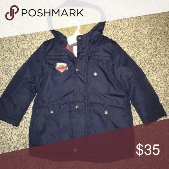 Boys winter coat Navy blue winter coat, size 7 toddler. Excellent condition Other